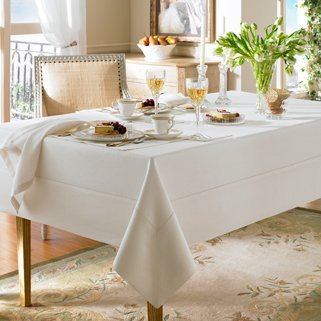 Waterford - Waterford Addison Linen Natural Table Cloth 70