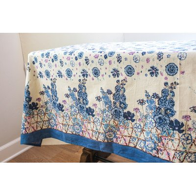 Couleur Nature Fleur Sauvage Tablecloth, 71 by 71