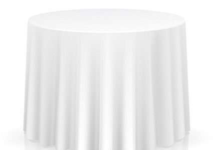 Lanns Linens 20 Premium 120″ Round Tablecloths for Wedding/Banquet/Restaurant – Polyester Fabric Table Cloths – White Review
